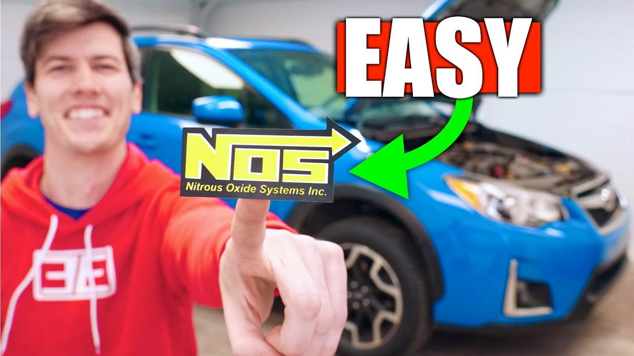 Do Stickers Make Your Car Faster? Cheap Power!