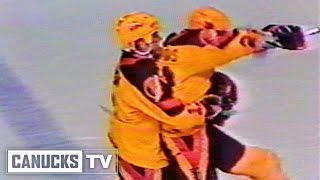 Playoff Moment - Tiger Williams OT Winner and Epic Celebration