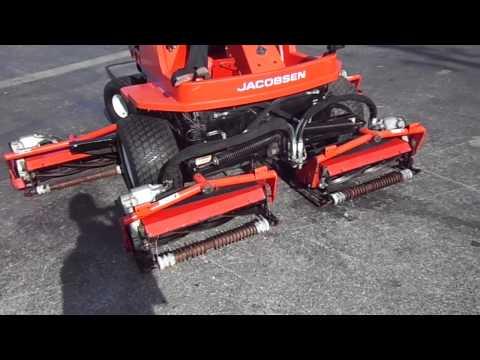 JACOBSEN LF-3810 - Diesel, 4x4 LARGE REEL MOWER KUBOTA 38 HP DIESEL