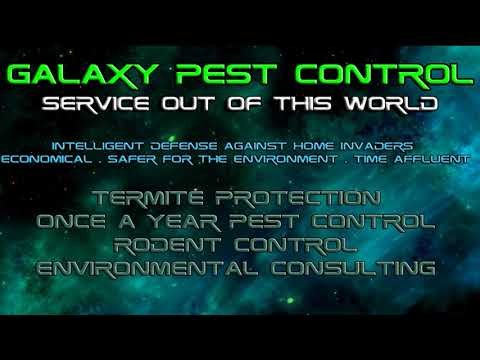 Galaxy Pest Control - Service Out Of This World