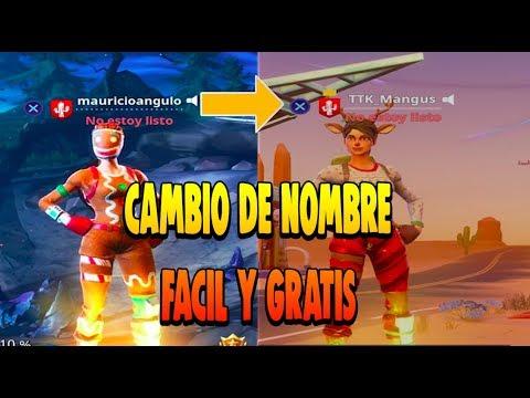 Como Cambiar Tu Nombre Id De Fortnite En Ps4 Y Xbox Gratis Sin Perder Stats Skins Y Stw Youtube