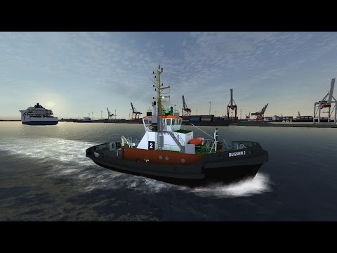 Ship Simulator 2008 Add-On: New Horizons Gameplay. Mission: A small job for Bugsier 2