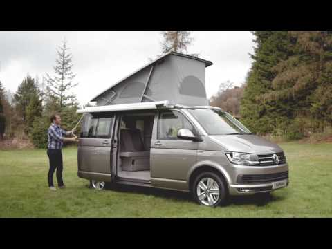 The New Volkswagen California | Volkswagen Commercial Vehicles