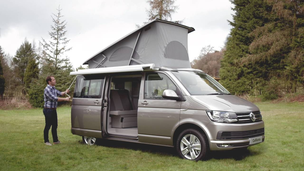 the new volkswagen california volkswagen commercial vehicles youtube. Black Bedroom Furniture Sets. Home Design Ideas