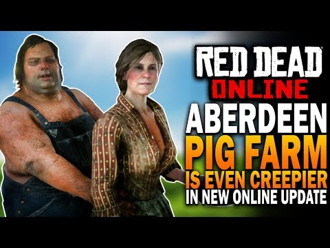 The Aberdeen Pig Farm Is Even Creepier In Online - Red Dead Redemption 2 Online Update