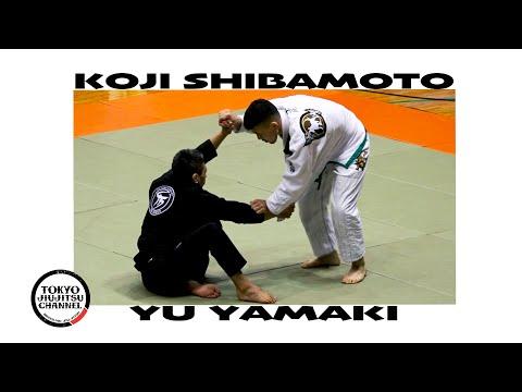 Koji Shibamoto & Yu Yamaki SJJJF 3RD ALLJAPAN JIUJITSU 2020 Black Adult Light Feather Final