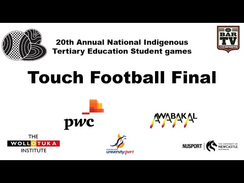 20th Annual National Indigenous Tertiary Education Student games - Touch Football Final