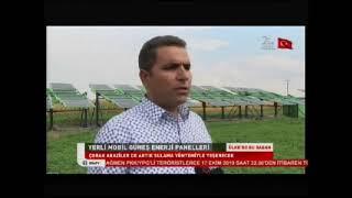 Ülke TV'de Asma Enerji - Doğa Solar / Yerli Güneş Enerji Sistemleri