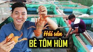 ĂN HẢI SẢN TRÊN BÈ TÔM HÙM |Ký sự du lịch Phú Yên #3