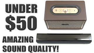 Amazing Sound Quality For The Price | Affordable Under $50 | (Tewell Bluetooth Speaker) [4K] 60fps