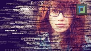 Text portrait effect | photoshop tutorial cs6 | photo effects [ episode 22]