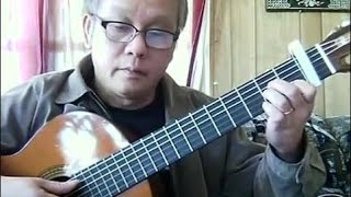 Xin Cho Tôi (Trịnh Công Sơn) - Guitar Cover by Hoàng Bảo Tuấn