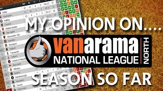 My Opinion On...... 2016/17 National League NORTH Season So Far!