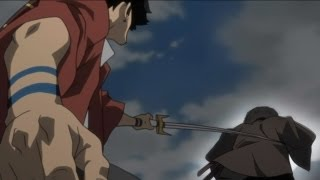 Samurai Champloo EP25-Mugen&Jin VS Kagetoki/''Hand of God'' [720p]