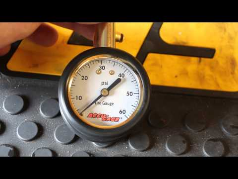 Review: Accu-Gage Tire Pressure Gauge *fixed*