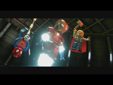 LEGO Marvel Super Heroes Part 10 - That Sinking Feeling (MODOK Boss Fight)