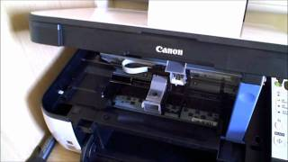 Canon MP270 Printer Cartridge Change(At the time of making this video I did not need to replace a cartidge so I actually just put the old one back in, but it is exactly the same process minus the ..., 2011-03-04T13:17:51.000Z)