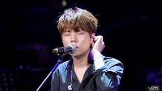 [4k] 170722 정승환 너였다면 (또 오해영 OST) 직캠 by 미스터신 성남 중앙공원 파크콘서트 live