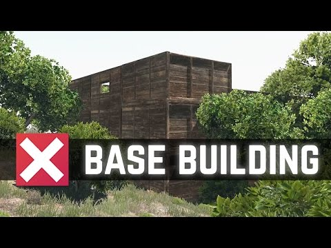 Arma 3: Exile Mod - How to Build a Base [60FPS]