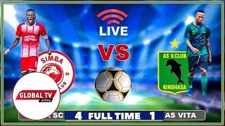 🔴#LIVE: SIMBA SC vs AS VITA ( 4 - 1 ) - LIGI YA MABINGWA AFRIKA, UWANJA wa MKAPA..