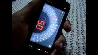 Nokia 5800  XpressMusic Angle Meter App By OffScreen Technologies