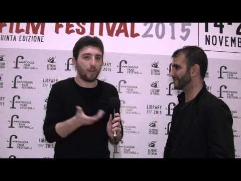 FOGGIA FILM FESTIVAL 2015 - Intervista al regista David Petrucci (Hope Lost)