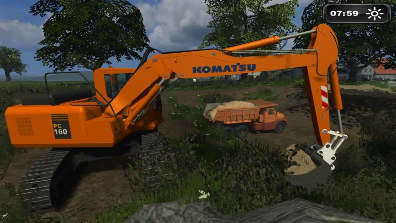 Fs11 travaux publics landwirtschafts simulator youtube - Jeu de tracteur agricole gratuit ...