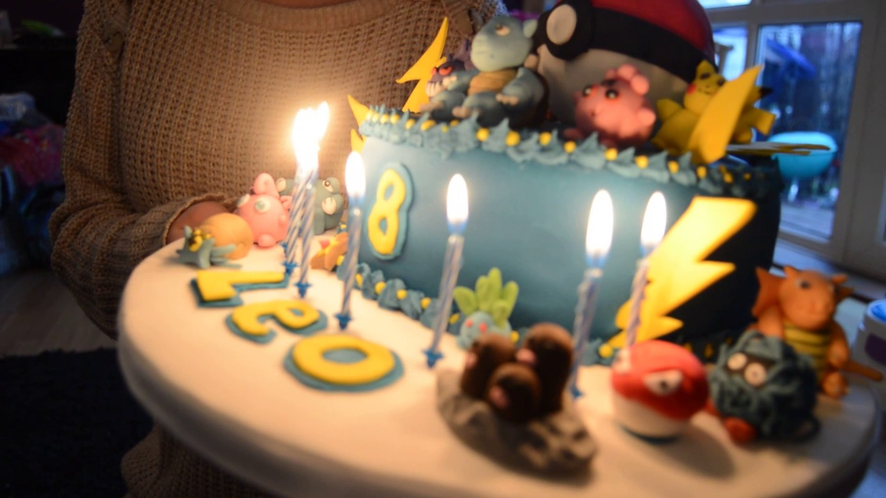 Best Pokemon Birthday Cake In The World Youtube