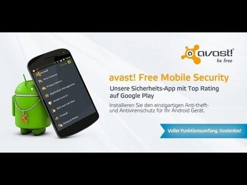 Bester Kostenloser Virenscanner - Avast! Android [Free/German/Deutsch/HD]