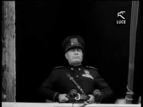 Mussolini's declaration of war, 10 June 1940 - translated in english