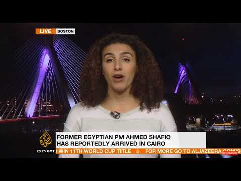 Sahar Aziz on deportation of Egypt presidential candidate Ahmed Shafiq from UAE‎