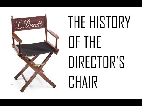 The History Of Director S Chair