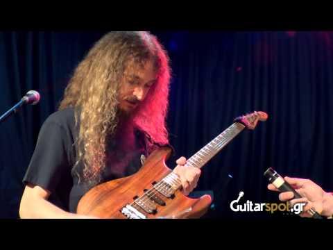 Guthrie Govan  ||  Interview - Live Setup  Guitarspot.Gr