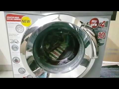 IFB 8 Kg Fully Automatic Front Load Washing Machine Demo in Telugu