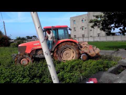 元榮農機~乘坐式割草機實機操作 耕耘機 曳引機 | Doovi
