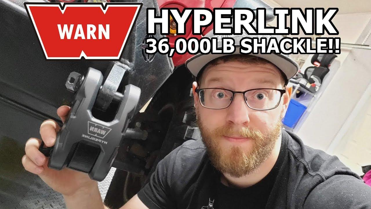WARN 100630 Black Epic Hyperlink Shackle