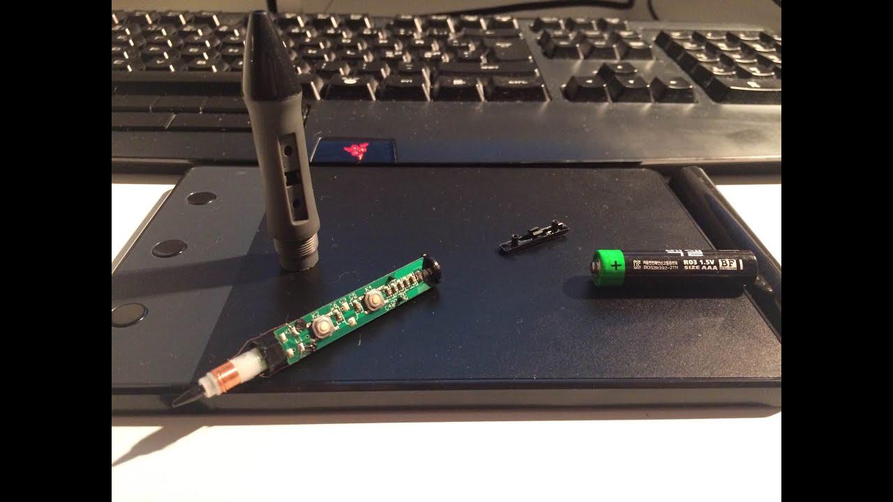 [Fix] Huion H420 Pen Inside look