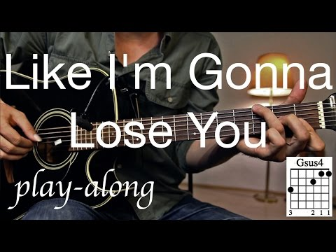 Like I'm Gonna Lose You - Meghan Trainor  Guitar Lesson / Tutorial - with SOLO on Guitar /COVER/