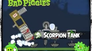 bad piggies scorpion tank vs roflcopter