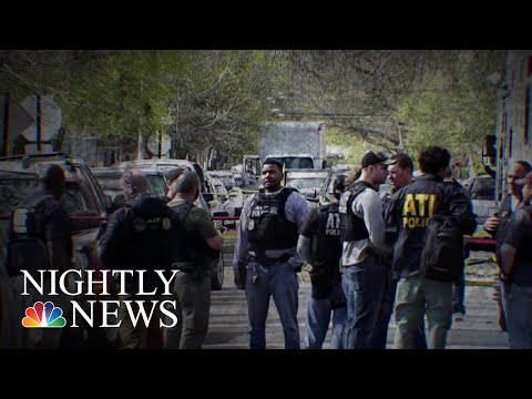 Urgent Manhunt Underway After An ATF Agent Shot In Face In Chicago | NBC Nightly News