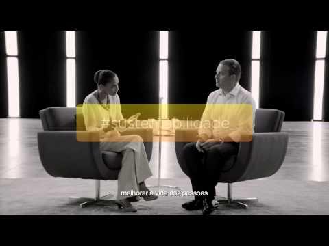 Eduardo Campos e Marina Silva | Programa Nacional PSB - Rede - PPS