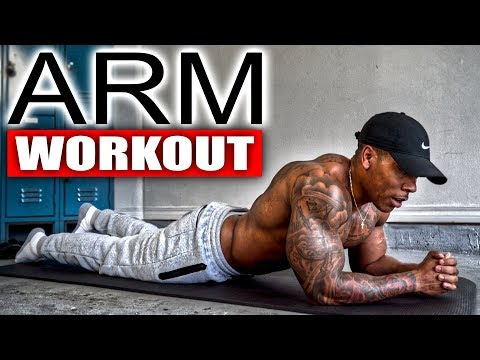 5 MINUTE ARM WORKOUT(NO EQUIPMENT)
