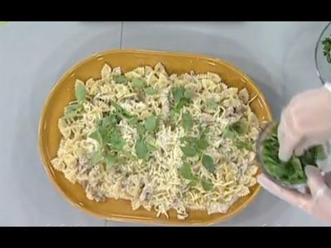 مكرونة بالدجاج والجبن - مطبخ منال العالم