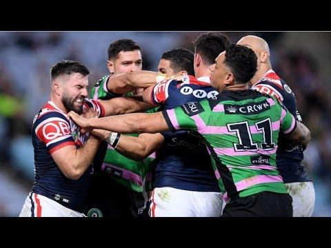NRL Highlights: South Sydney Rabbitohs v Sydney Roosters - Round 22