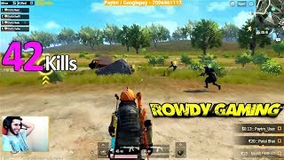42 KILLS WITH SQUAD FASTEST CHICKEN DINNER | PUBG MOBILE