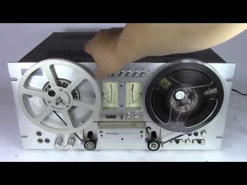 No Reserve Online Auction Used Pioneer Auto Reverse Direct Drive Reel To Reel RT-707 Tape Deck