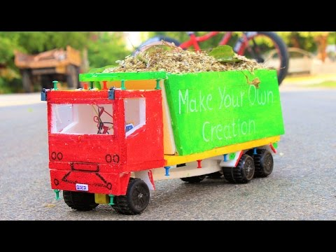How To Make A Truck At Home - Make Your Own Creation
