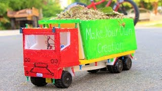 How to make a Truck - garbage truck