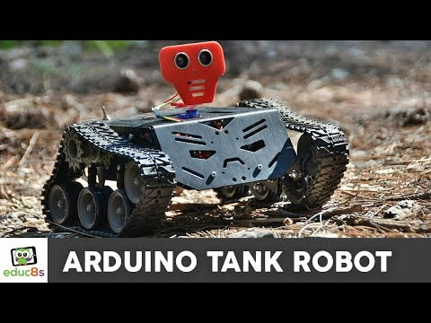 Arduino Tank Robot Project using the Devastator metal chassis!