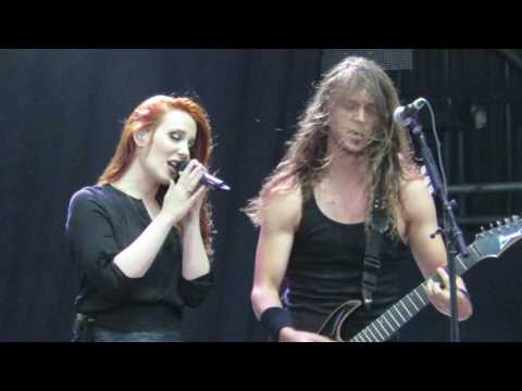 Epica 'Cry For The Moon' Rock In Roma,Rome 8th June 2016